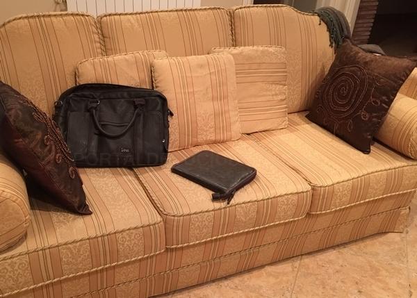tresillo clasico tapizado