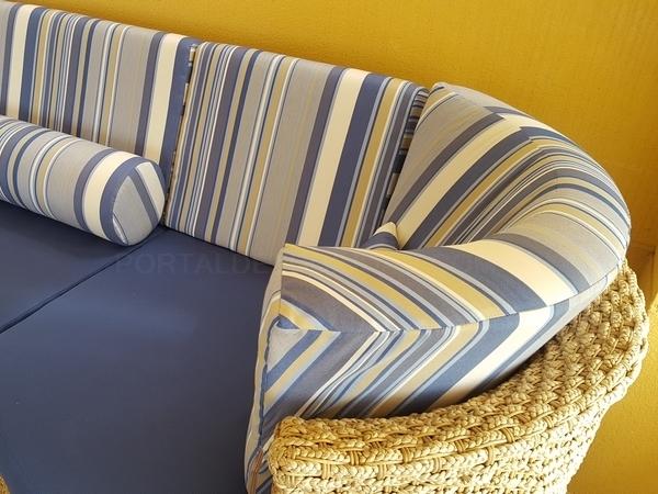 tapizado sofa esquina redondeada