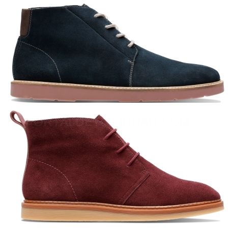 zapatos para hombre clarks, goretex