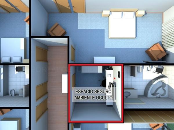 Diseño de habitaciones antipánico