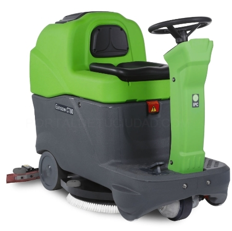 Destacado Fregadora CT 80. Ipc