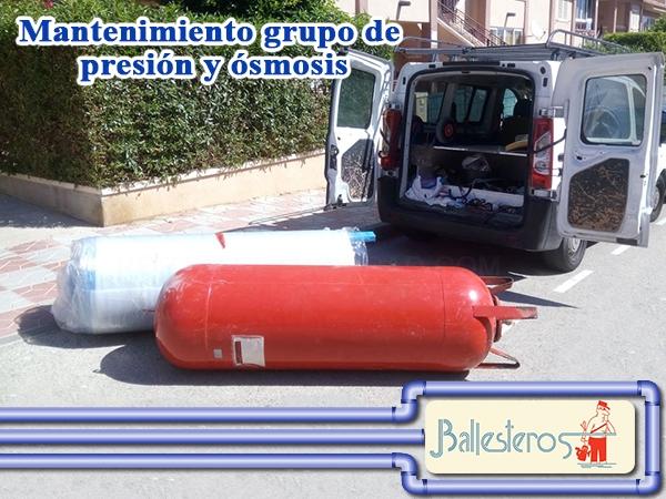 Mantenimiento grupo de presión Elche Alicante