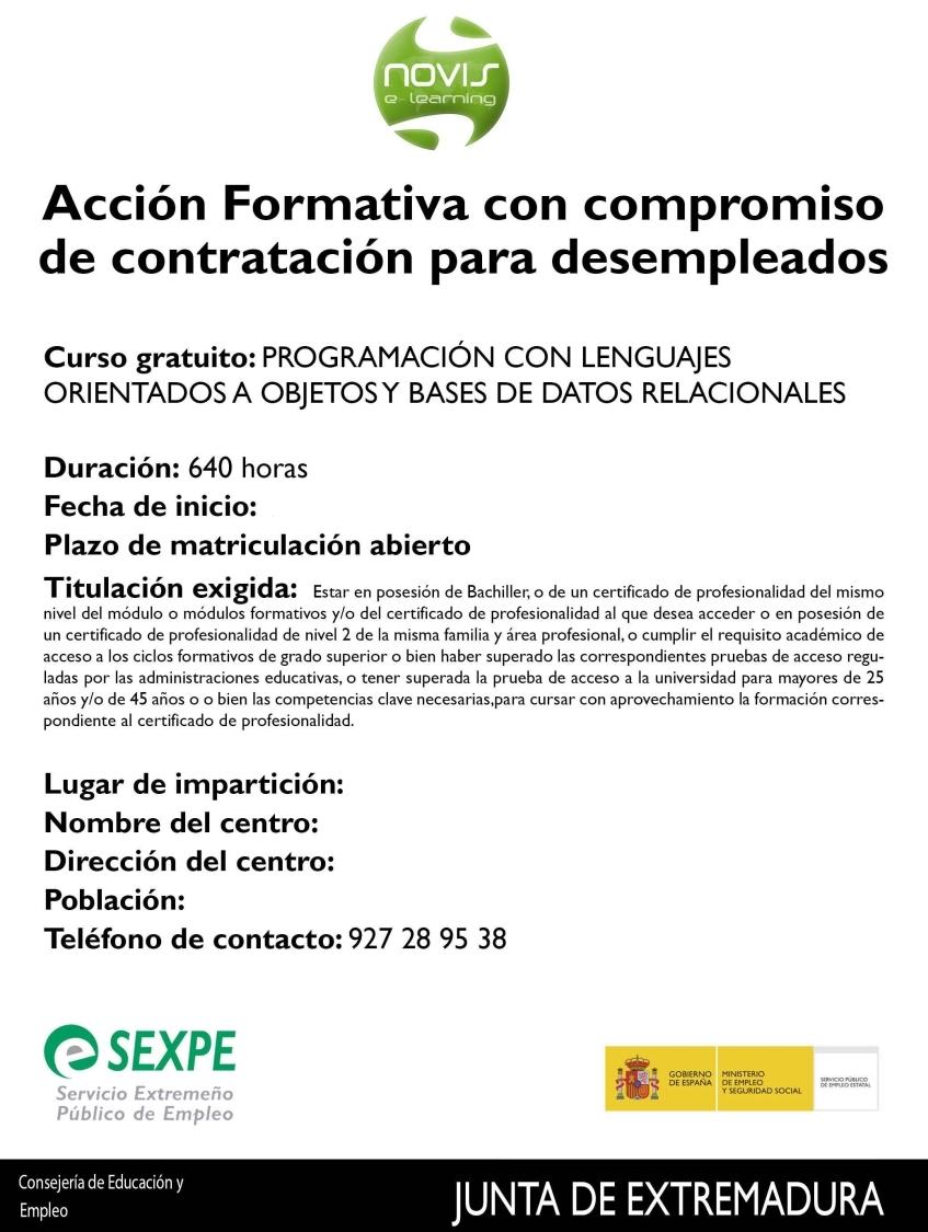 Curso de programación lenguajes orientados