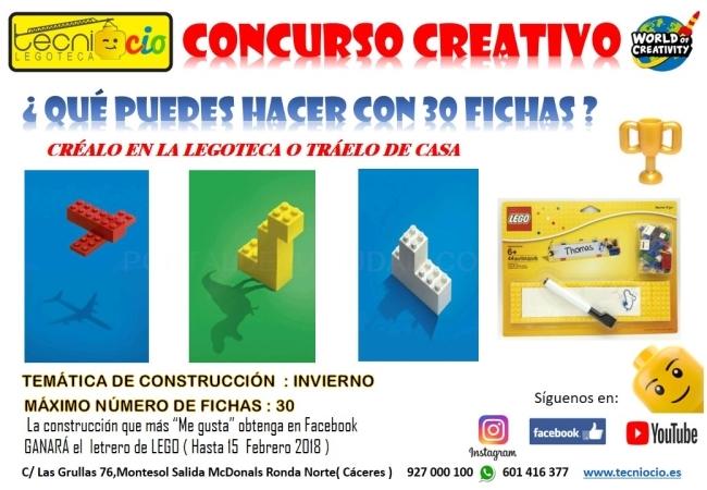 Concurso Creativo Febrero 2018