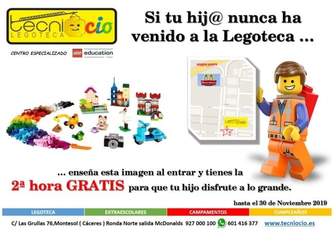 Regalo de bienvenida LEGOTECA