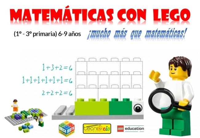 Actividad Extraescolar MATEMÁTICAS con LEGO