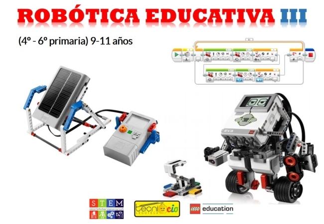 Actividad Extraescolar Robótica educativa III