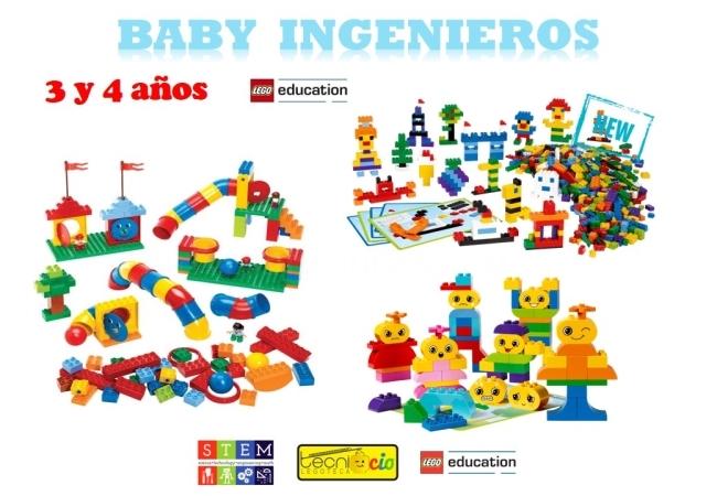 Actividad Extraescolar Baby Ingenieros