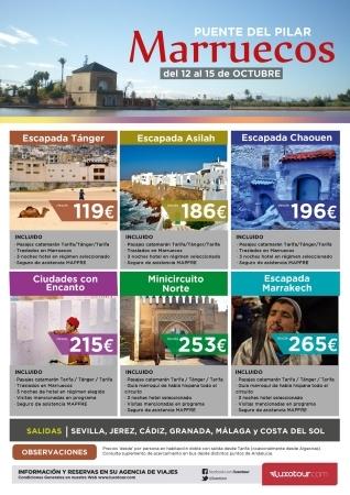 MARRUECOS- CIRCUITOS- ESCAPADAS