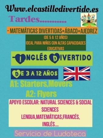 ABACO + AJEDREZ + MATEMÁTICAS DIVERTIDAS