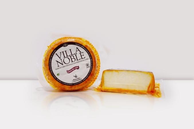 Queso de cabra madurado con pimentón de La Vera Villa Noble