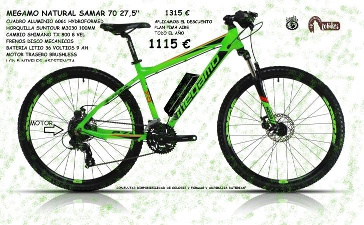 MEGAMO NATURAL SAMAR 70 27,5