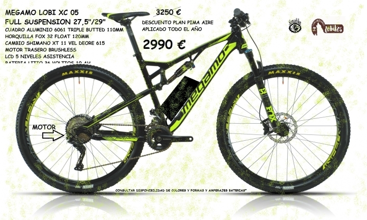 MEGAMO LOBI XC 05 FULL SUSPENSION