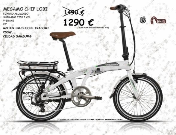 Bicicletas plegables eléctricas