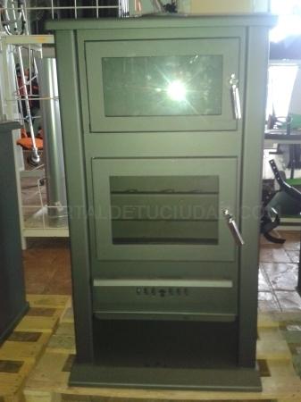 Tipos de estufas con puertas acristaladas