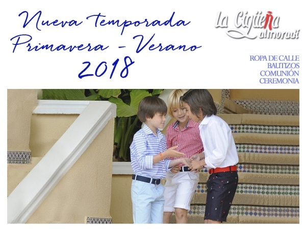 Colección Primavera - Verano 2018