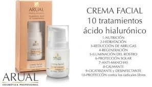 Arual hyaluronic acid