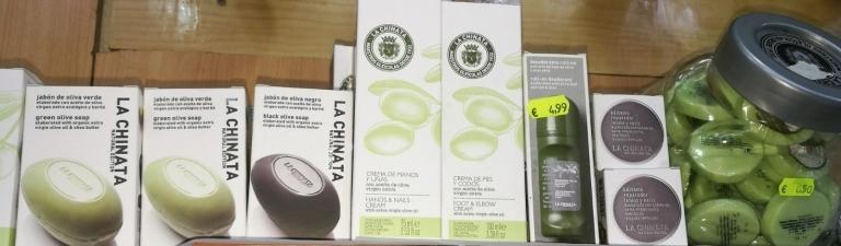 Productos cosmética naturales aceite de oliva