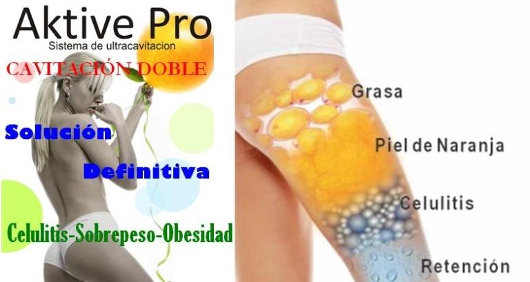 Celulitis Cavitación Presoterapia