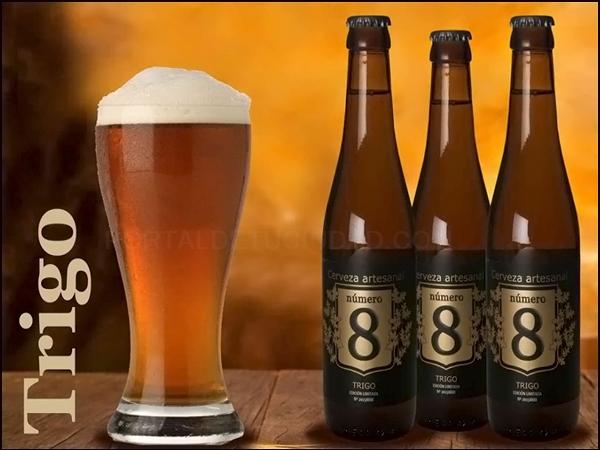 Cerveza Artesana Número 8 Trigo