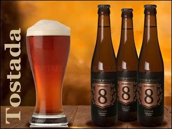 Cerveza Artesana Número 8 Tostada