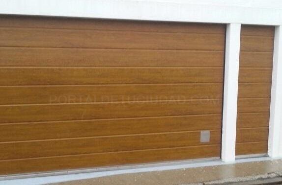 Puertas de garaje en Palencia