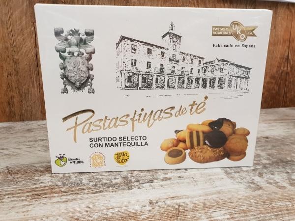 Pastas de te UKO en Palencias