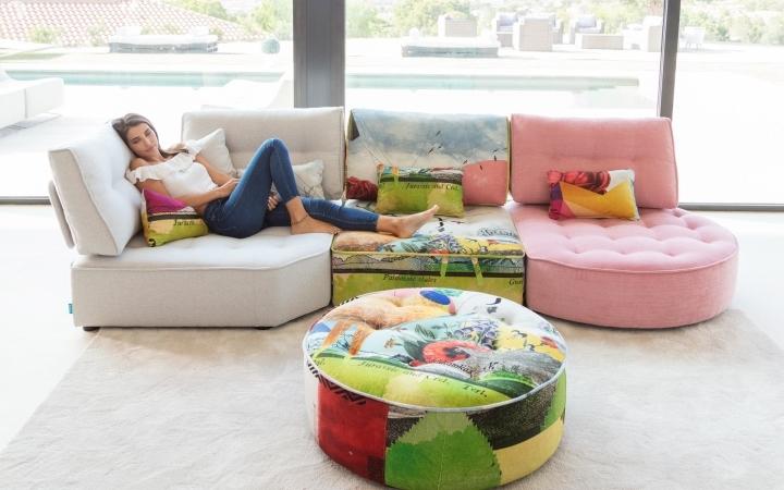 Sofa FAMA modelo ARIANNE modular