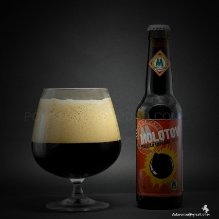 Cerveza Artesana MOLOTOV, Imperial Stout