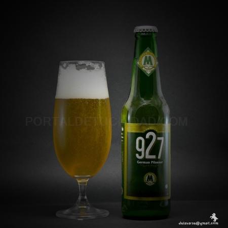 Cerveza Artesana 927, German Pilsener