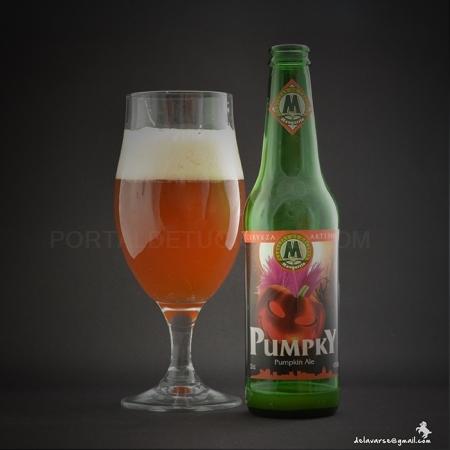 Cerveza Artesana PUMPKY, Pumpkin Ale