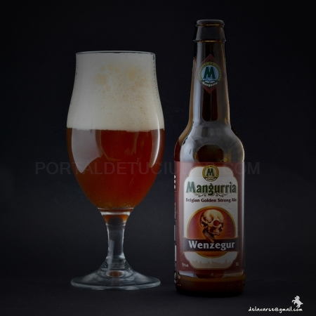 Cerveza Artesana WENZEGUR, Belgian Dark Strong Ale