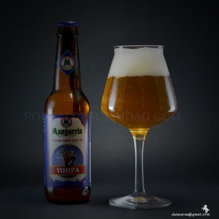 Cerveza Artesana YIHIPA, English India Pale Ale