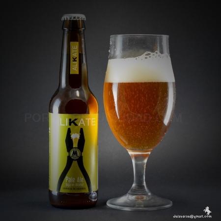 Cerveza Artesana ALIKATE, Pale Ale