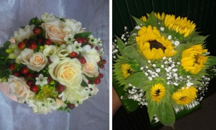 Arreglos florales, centros de flores