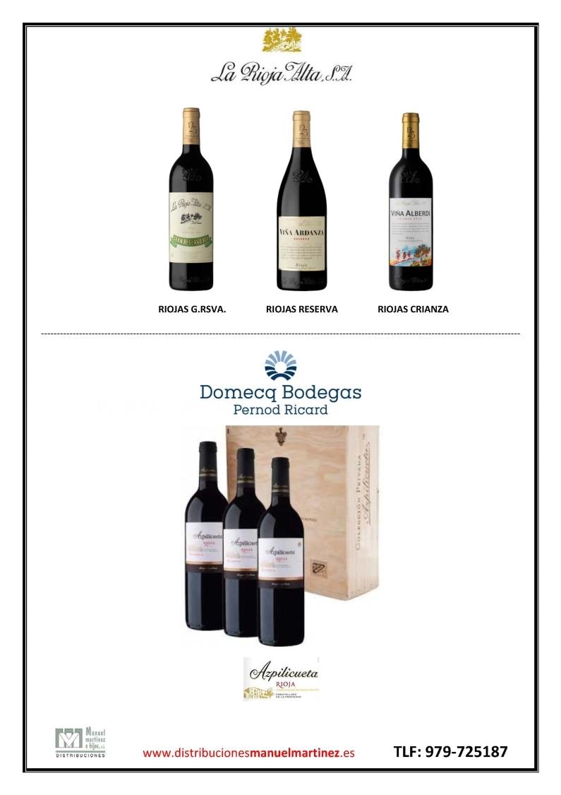 Distribución de vinos en Palencia