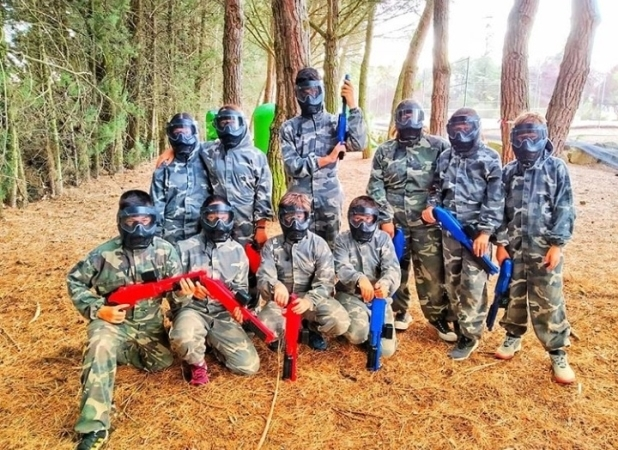 Paintball a domicilio  Palencia