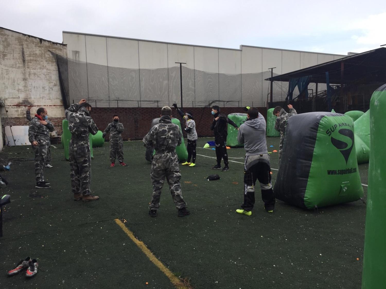 Escuela de Paintball niños en Palencia