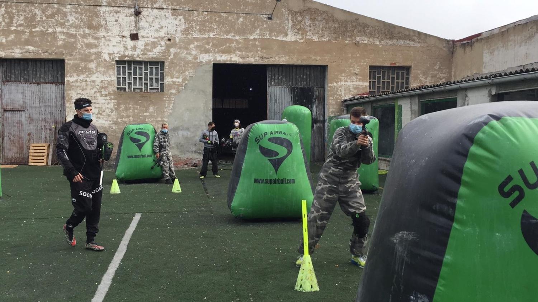 Escuela de Paintball adultos en Palencia