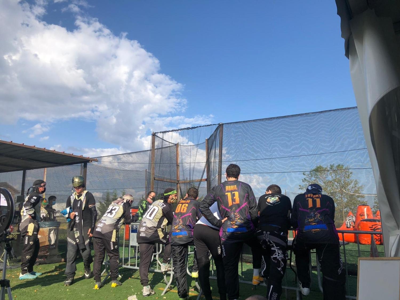 Paintball competición en Palencia