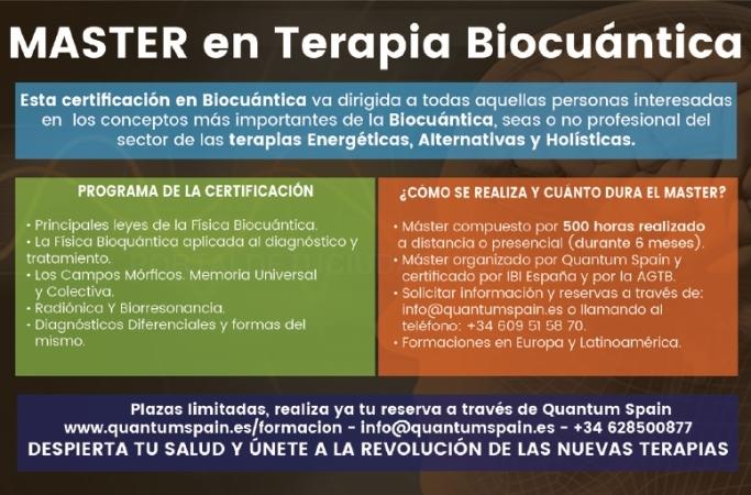 Master en Terapia Biocuántica