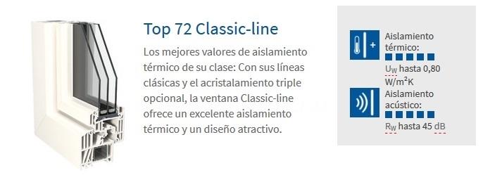 Ventanas de PVC Top 72