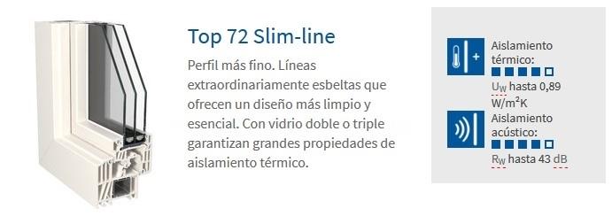 Top 72 Slim-line