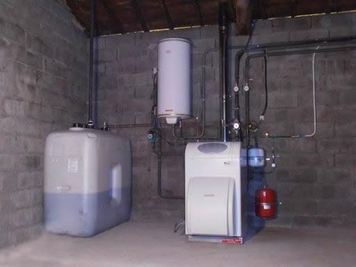 Instalaciones de calderas de gas oíl