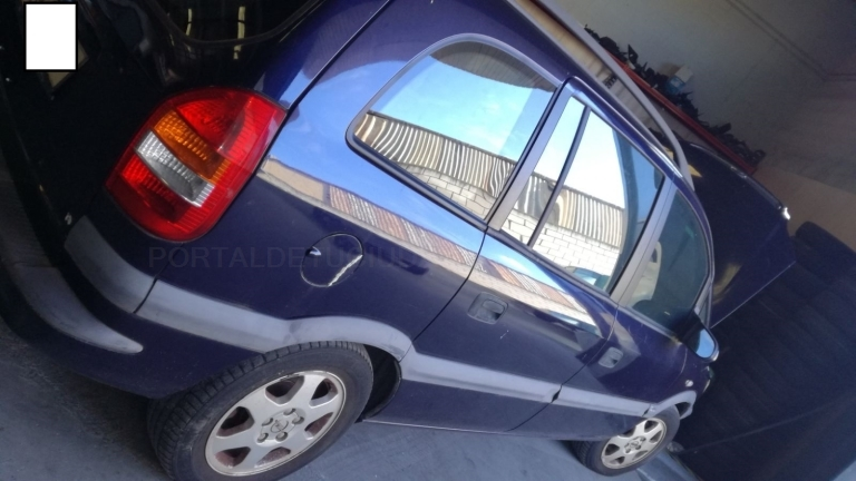 Opel Zafira A G 1.8 GASOLINA, AÑO 2001