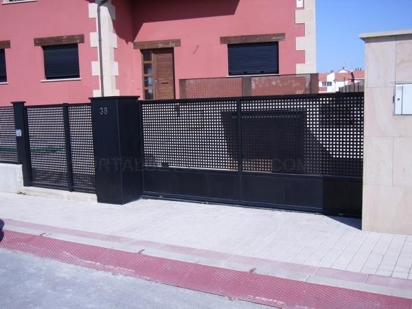 Puertas metálicas en Palencia