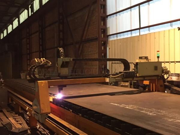 maquina de corte de acero en palencia