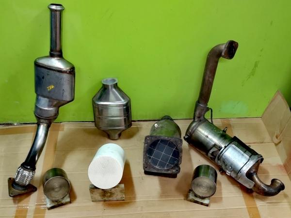 Reparación catalizadores y filtros partículas