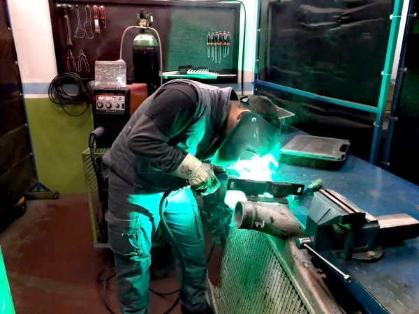 Soldadura de metales en Palencia