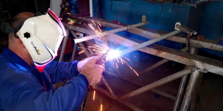 Trabajos de aluminio en Palencia
